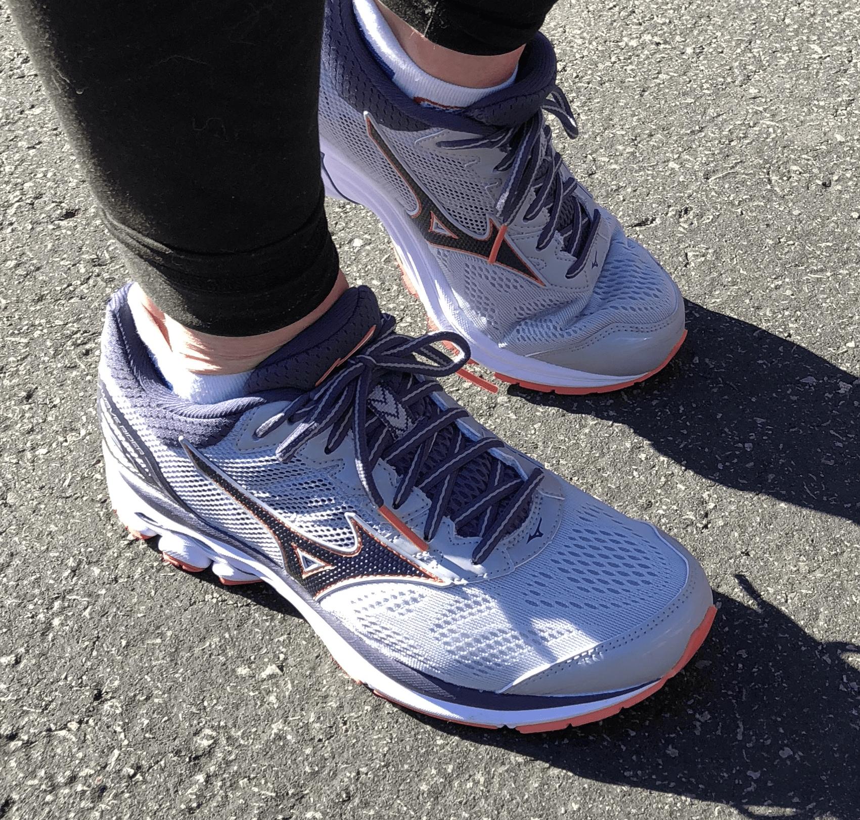 Training for Next Half Marathon with Mizuno Wave Rider 21 Shoes