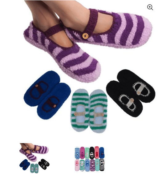 womens mary jane slipper socks deal 4 pack walmart
