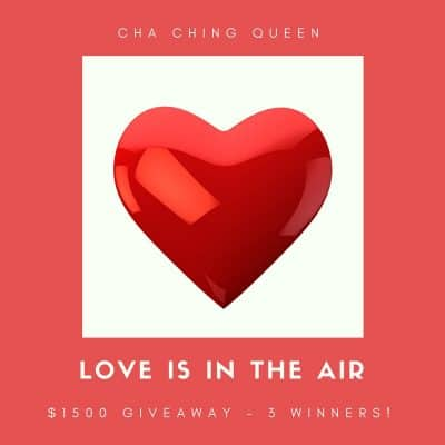 Valentine's Day Giveaway – 3 winners of $500 Amazon Gift Card or Paypal cash