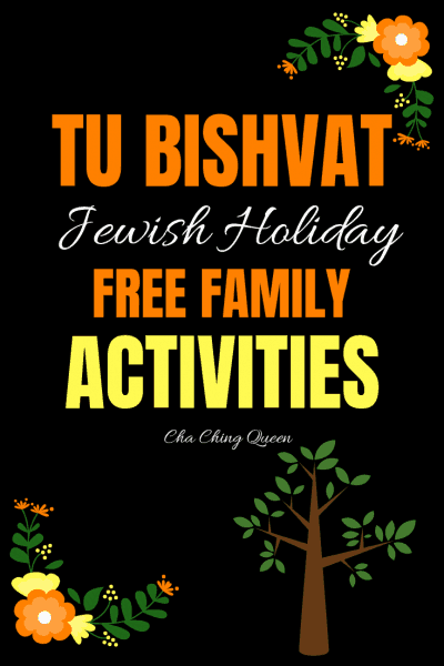 Tu Bishvat Activities for Kids - Jewish Holiday Free Stuff for Families