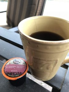 blueberry blast crazy cups flavored coffee giveaway