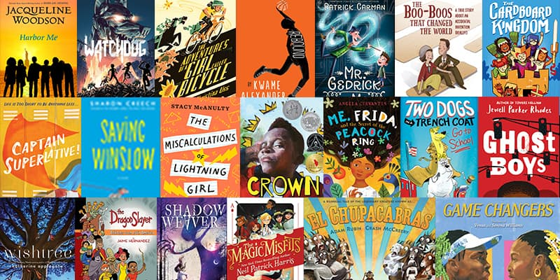 Texas Bluebonnet Books 2019 - 2020 Children's Books Awards