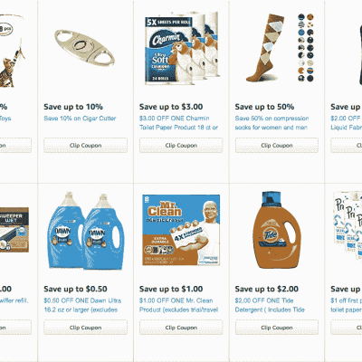 New Amazon Coupons to Clip for Beauty, Health, Electronics, Household, and More