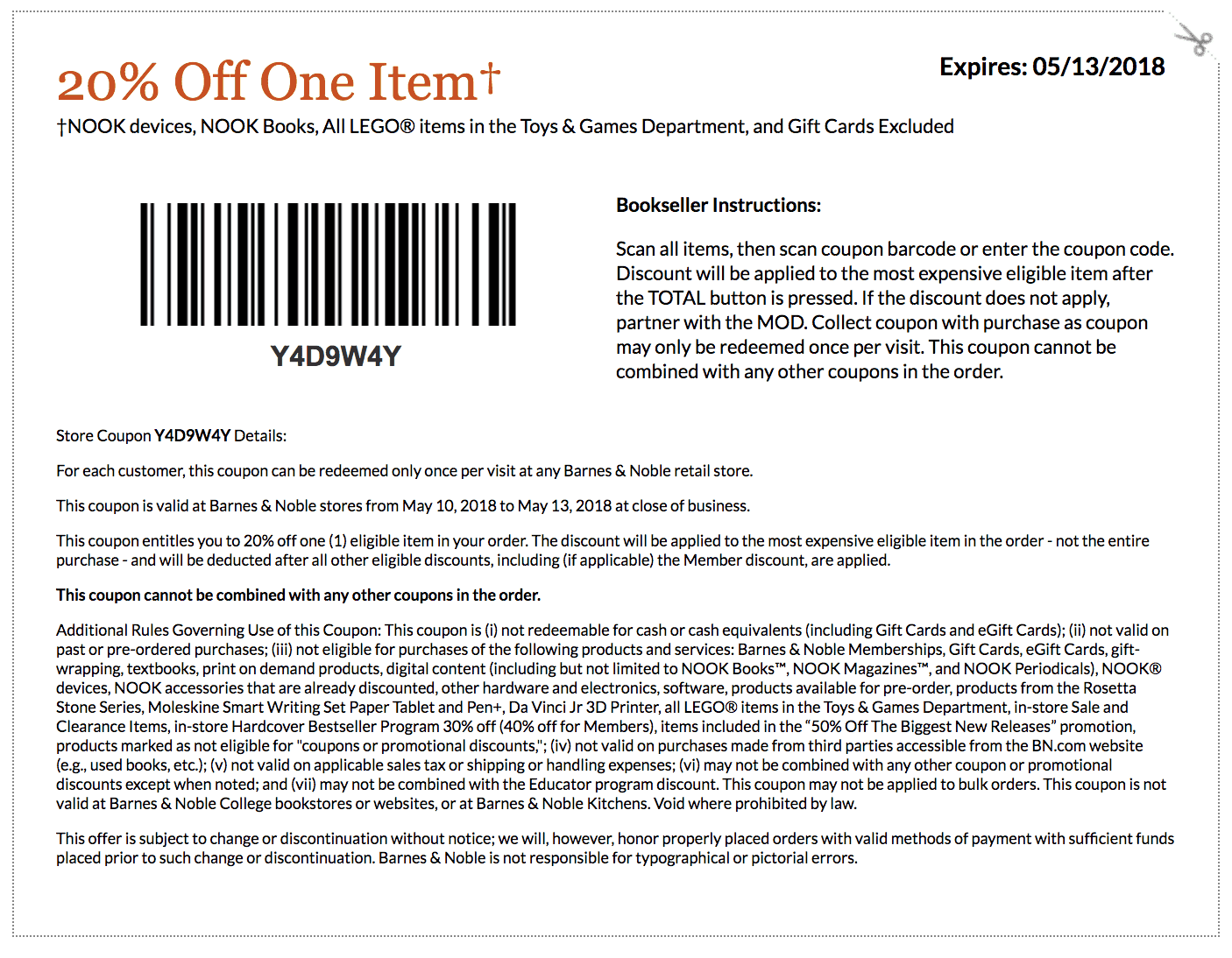 Coupon Code Barnes And Noble Membership