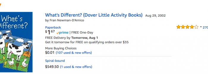 deal on amazon kids activity books