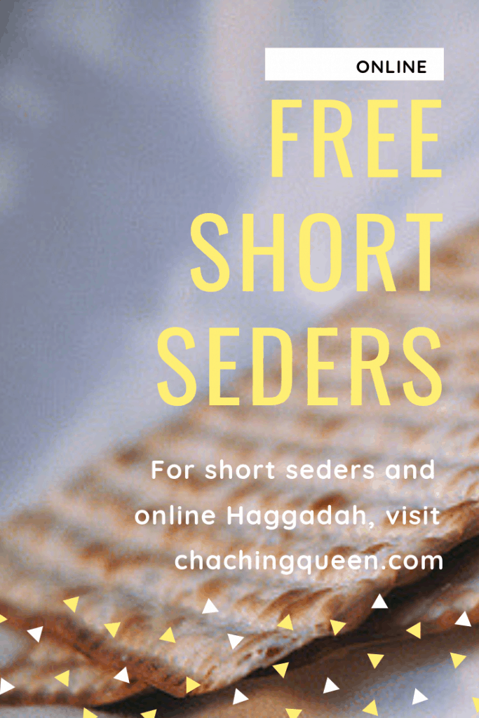 Passover Short Seders – Free Passover Haggadahs Online (Updated for 2019) #passover #shortseder