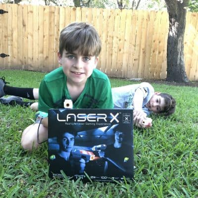 Laser X Micro Blasters: Home Laser Tag Game + Giveaway