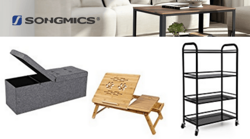 My New Songmics Storage Ottoman + Giveaway