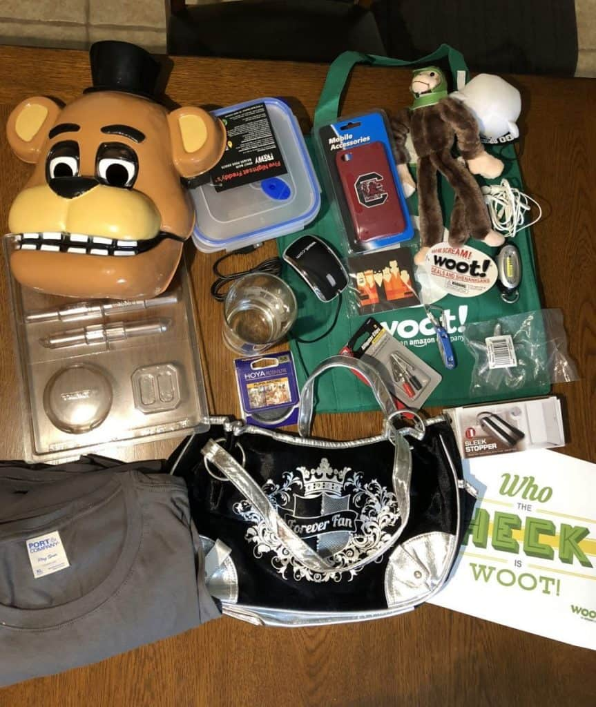 whats inside woot bag of crap