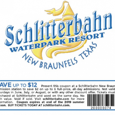 The Best Schlitterbahn Coupons and Discount Tickets 2019 – Summer Fun Waterpark Deals