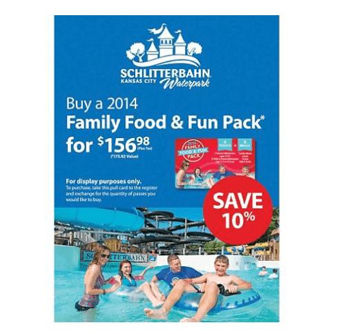 Schlitterbahn discount tickets at Sam's Club-min