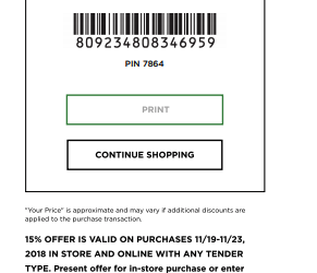 kohls printable coupon november 2018