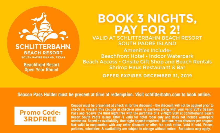 schlitterbahn printable coupon code 2019 south padre beach resort-min