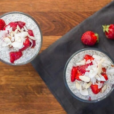 Strawberry Chia Pudding Parfait Recipe