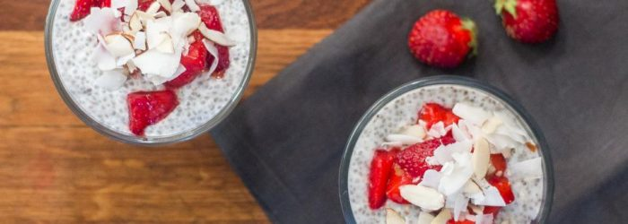 Strawberry Chia Pudding Parfait