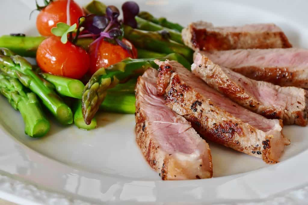 asparagus steak keto diet