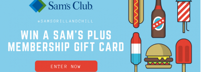 sams club giveaway $100 Sam's Plus membership gift card