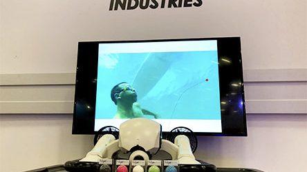 vanguard industries at sxsw 2018 austin texas underwater drone fidget knob
