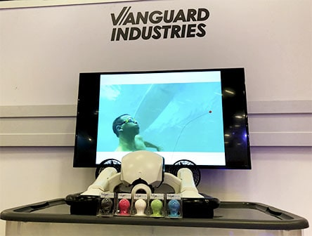 vanguard industries at sxsw 2018 austin texas underwater drone fidget knob