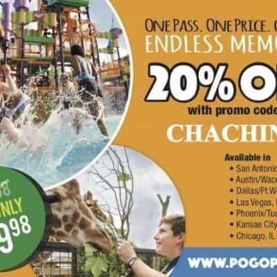 Pogo Pass Coupon Code – Big Discounts on the Entertainment Card for Arizona, Texas, Las Vegas, Chicago, Kansas