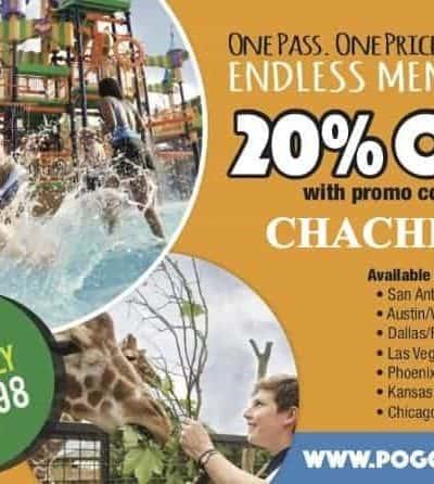 Pogo Pass Coupon Code – Big Discounts on the Entertainment Card for Arizona, Texas, Las Vegas, Chicago, Kansas