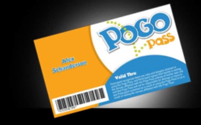 Pogo Pass entertainment card gift idea