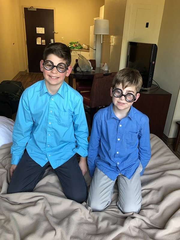 family travel review of Extended Stay America Hotels - plymouth meeting and greensboro