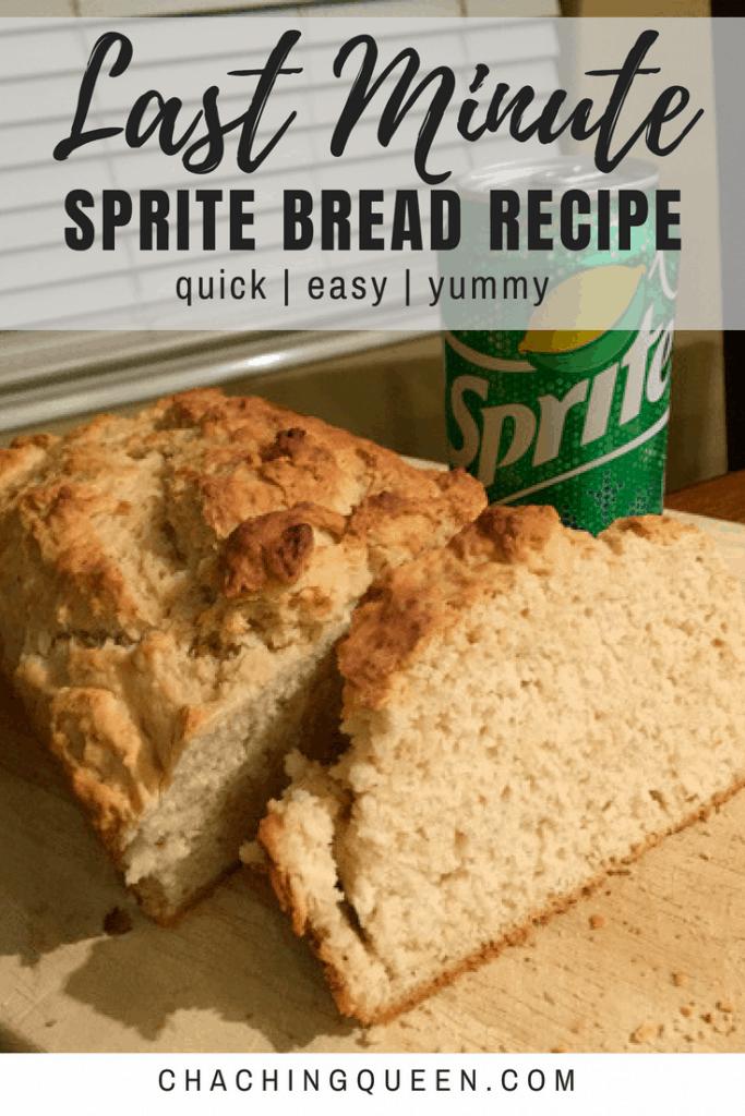 last minute sprite bread recipe on cha ching queen