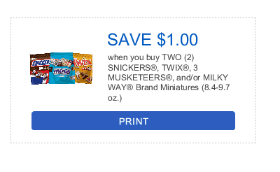 Get Your Mars Chocolate Minis at H-E-B and Save $1 With This Coupon