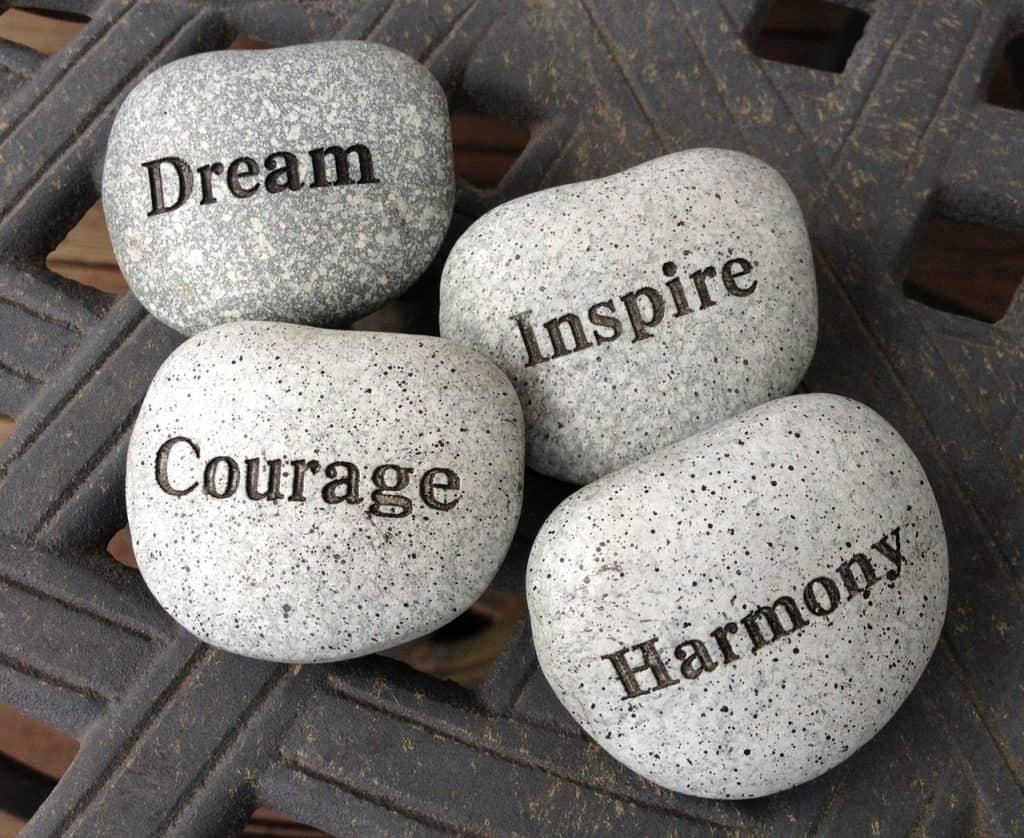 stones rocks dream