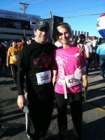 rachel and morry race for the cure austin texas 2010