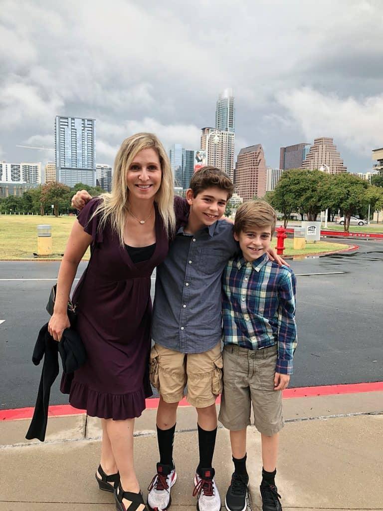 rachel and the boys summer 2018