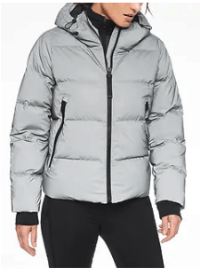 Snow Down Reflective Jacket from Athleta