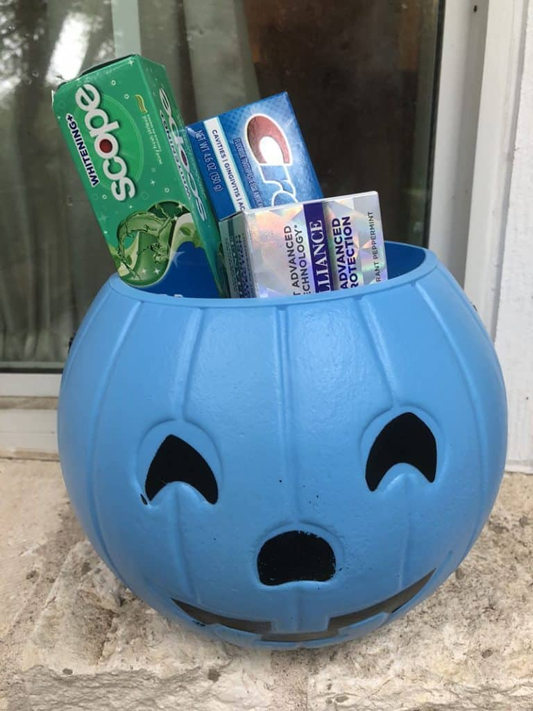 Halloween and Crest Go Hand-in-Hand