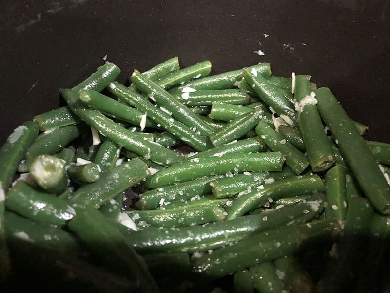 green beans recipe from Noom app healthy recipe