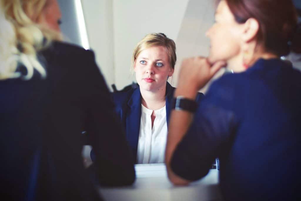 professional woman career change