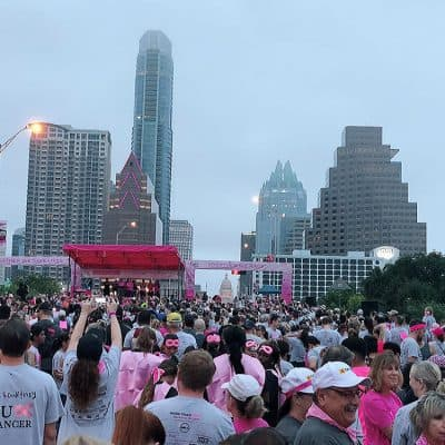 Race for the Cure 2018 in Austin, Texas – Participating as a Young Breast Cancer Survivor