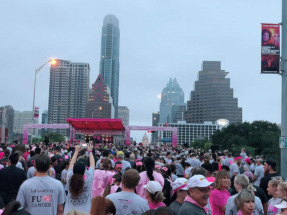 race for the cure austin texas 2018 start