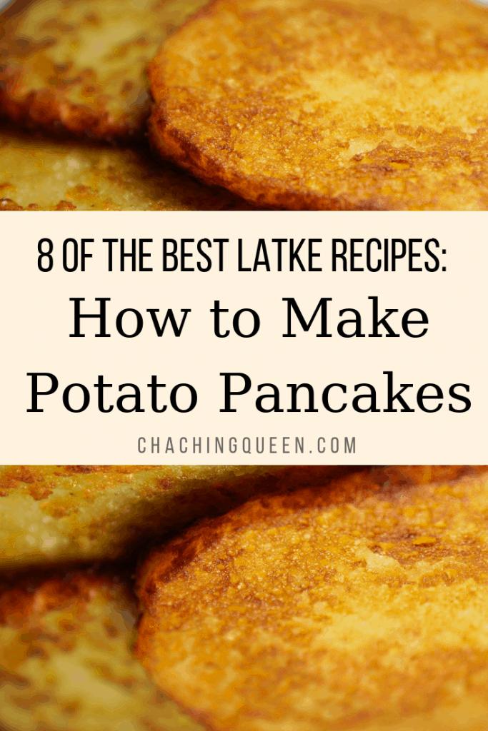 The Best Latke Recipes - How to Make Potato Pancake Recipes for Chanukah