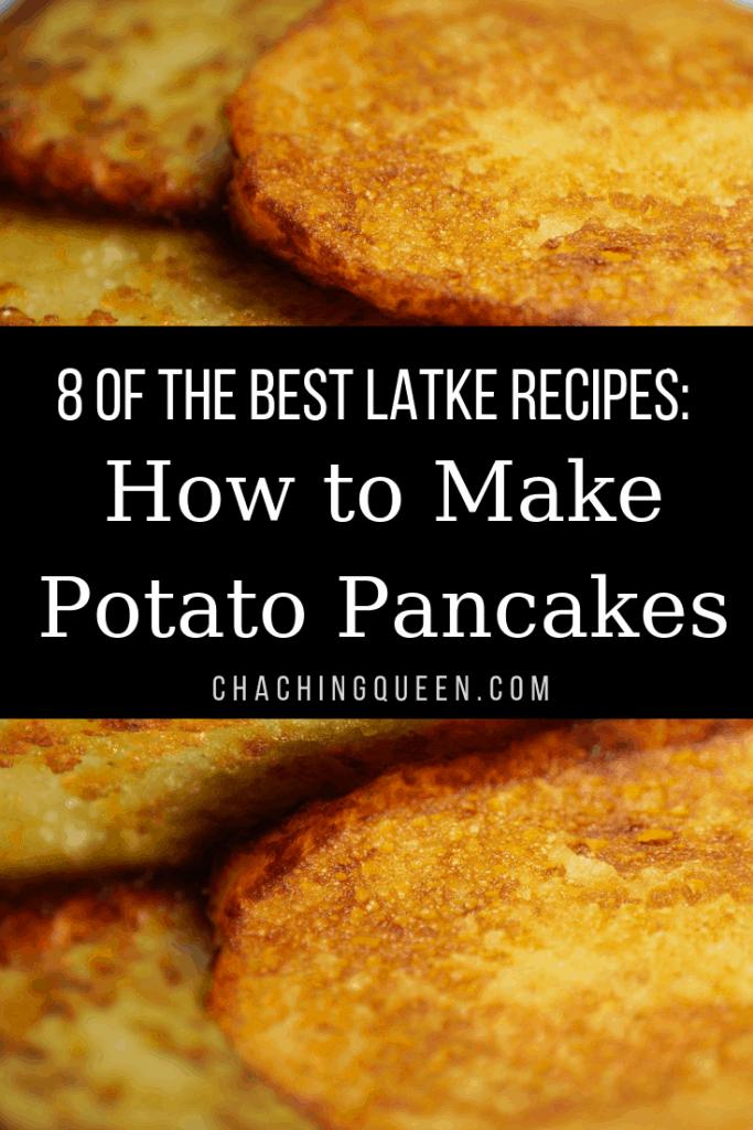 The Best Latke Recipes - How to Make Potato Pancake Recipes for Hanukkah
