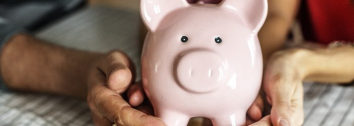 frugal on a schedule piggy bank saving money