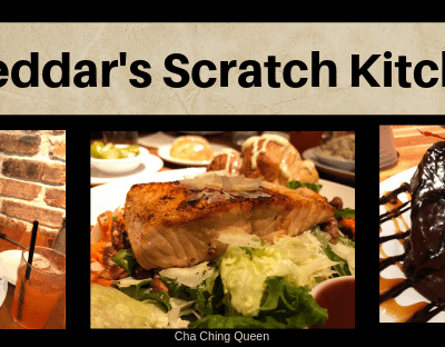 New Cheddar's Menu with Options for the Whole Family on a Budget