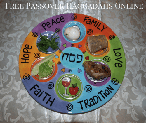 image regarding Printable Haggadah named Shorter Seder Listing - Free of charge Printable Pover Haggadah On line