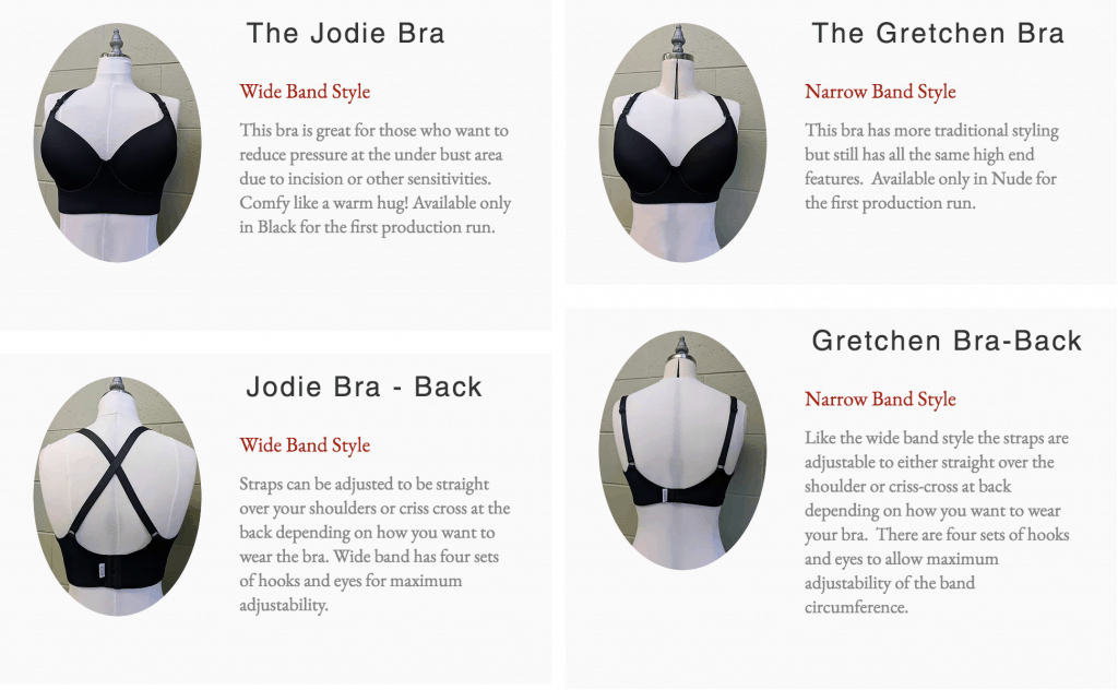 Pretty, Comfortable Bras for Breast Cancer Survivors and Previvors from Elemental