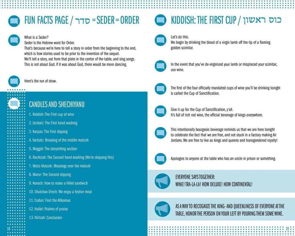 guide-to-passover-seder-haggadah-table-of-contents-jewish-federation-short seder online