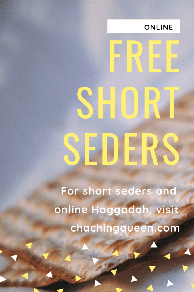 photograph regarding Printable Haggadah referred to as Quick Seder Checklist - Cost-free Printable Pover Haggadah On the internet