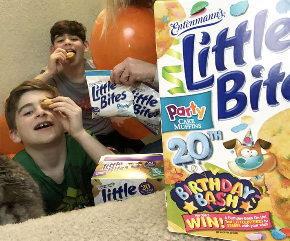 Little Bites 20th Birthday Blog Giveaway For Visa Gift Card