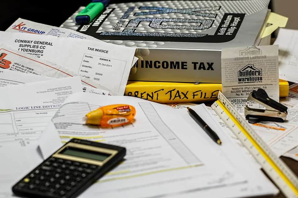 paying bills, getting out of debt, paying taxes
