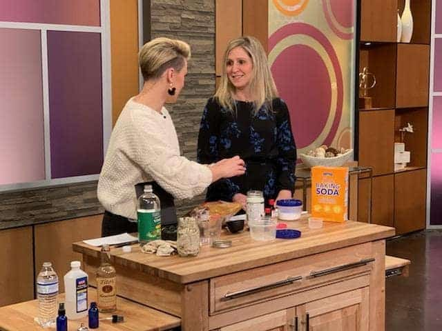 Studio 512 on WB and KXAN in Austin - DIY Household Products with Cha Ching Queen - Rachel Belkin