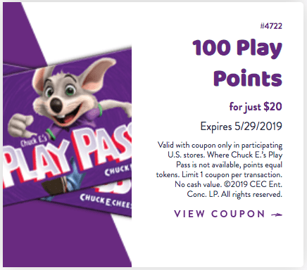 photo about Chuck E Cheese Coupon Printable named Great 2019 Chuck E Cheese Discount codes, Absolutely free Tokens Tickets